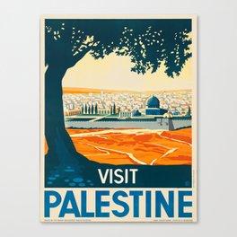 Vintage poster - Palestine Canvas Print