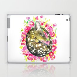 Sleepy baby quoll Laptop & iPad Skin