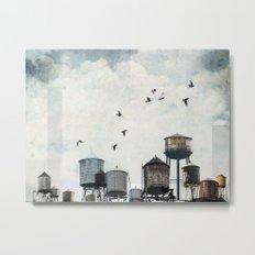 Watertanks 2 Metal Print