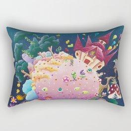Games in orbite Rectangular Pillow