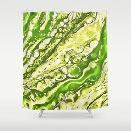 Drowning Here Shower Curtain