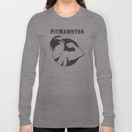 FitMawrter Design in Black Long Sleeve T-shirt