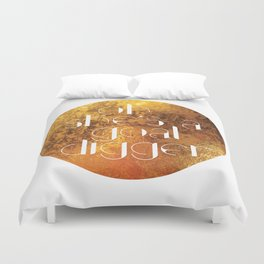 Oh She's A Goal Digger - Golden Duvet Cover