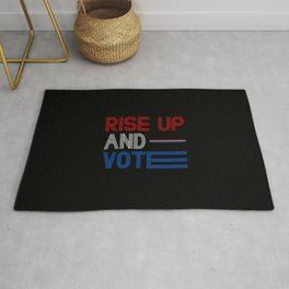 Rise Up And Vote Rug