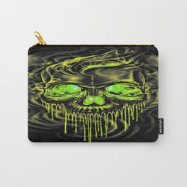 Glossy Yella Skeletons Carry-All Pouch