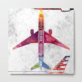 American 777 Metal Print