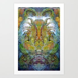 FOMORII THRONE Art Print