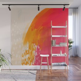 The Bright Abstract Waterfall Wall Mural