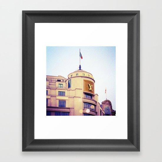 Vuitton Framed Art Print