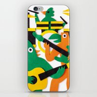 band iPhone & iPod Skins featuring The Band by Jacopo Rosati