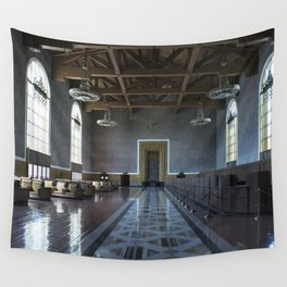 Los Angeles Union Station Interior Wall Tapestry