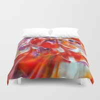 study Duvet Covers featuring Colour Study by Creative Lore
