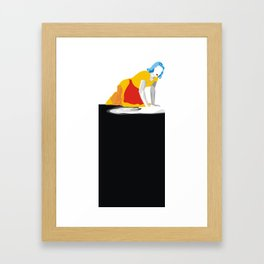 Maid09B Framed Art Print