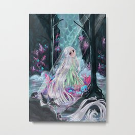 The Nymph Song Metal Print