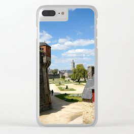 Vannes 5 Clear iPhone Case