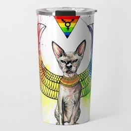 Shai Family Cattery Logo Travel Mug