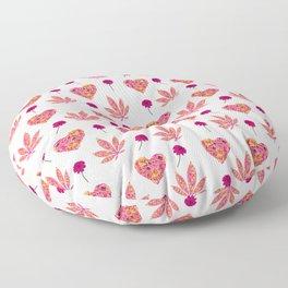 i Heart Pot Leaf Floor Pillow