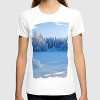 swedish T-shirts featuring Swedish Winter by Mark W