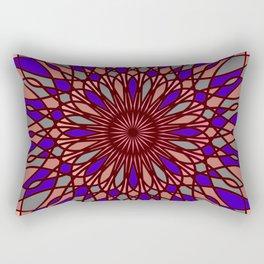 Futuristic mandala Rectangular Pillow