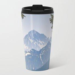 MOUNT LARRABEE FROM HEATHER MEADOWS Travel Mug