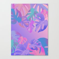 Monstera multi Canvas Print