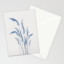 Blue flowers 2 Stationery Cards