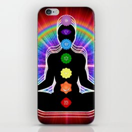Chakra Meditation iPhone Skin