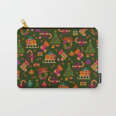 christmas x stitch pattern for the holiday mood Carry-All Pouch