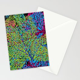 green veins Stationery Cards