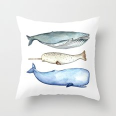 S'whale Throw Pillow