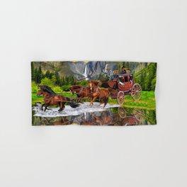 Wells Fargo Stagecoach Hand & Bath Towel