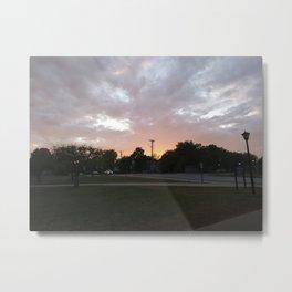 Sunlit Sky Metal Print