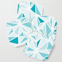 geo blue Coaster
