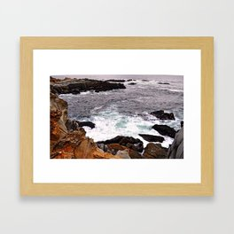 WAVES II Framed Art Print