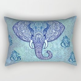 lord-Ganesh-symbol Art Rectangular Pillow