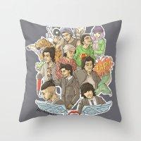 zayn malik Throw Pillows featuring Zayn Malik by Aki-anyway