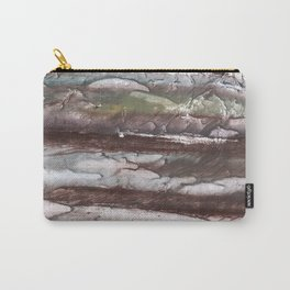 Gray brown marble Carry-All Pouch
