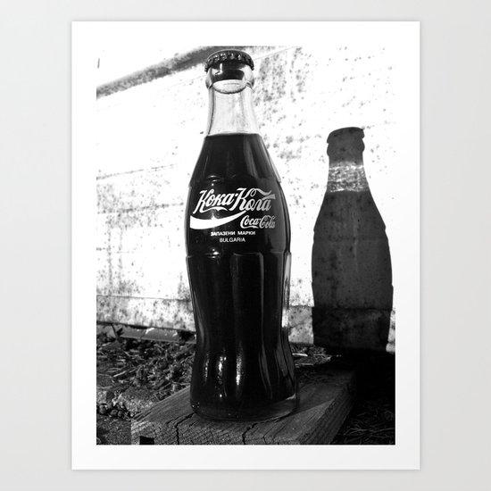 Koka-Kola Art Print