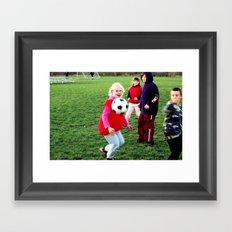 Headshot Framed Art Print