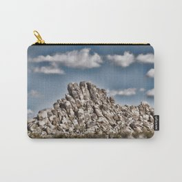 Rock Pile - Painterly Carry-All Pouch