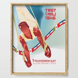 Glory to Yugoslavian design Serving Tray