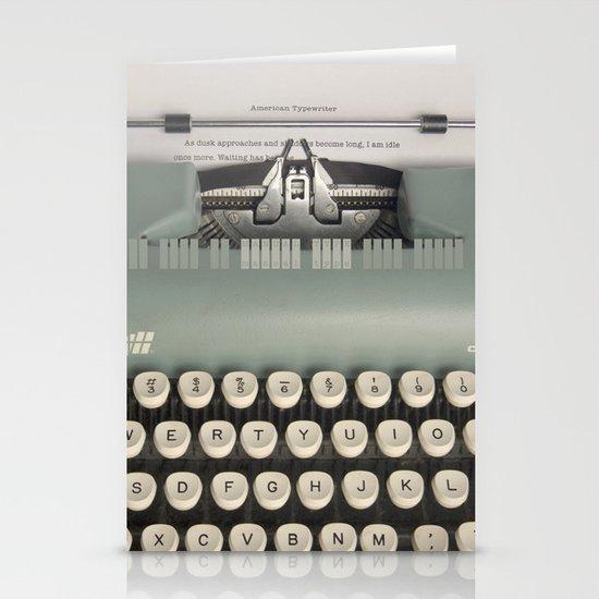 American Typewriter Stationery Cards