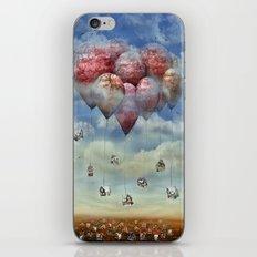 Wir gehen auf die Reise iPhone Skin
