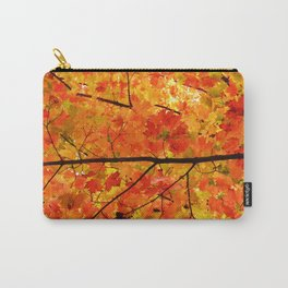 Sugar Maple Leaves in the Fall Light Carry-All Pouch