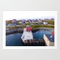 norway Art Prints featuring Norway by Les imprimés de Michèle