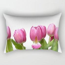 Tulips in Space.... Rectangular Pillow