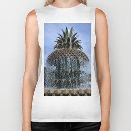 Pineapple Fountain Biker Tank