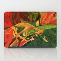 anxiety iPad Cases featuring Anxiety by Nima