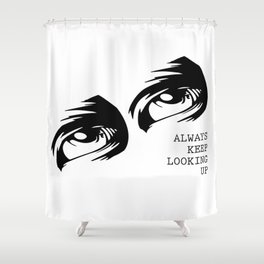 Eyes on the Prize Shower Curtain