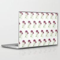 peony Laptop & iPad Skins featuring peony by Dao Linh